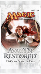 Avacyn Restored Booster Pack on Channel Fireball