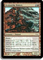 Avalanche Riders (FNM Foil) on Channel Fireball