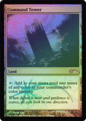 Command Tower (Judge Foil) on Channel Fireball