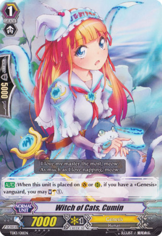 Witch of Cats, Cumin TD13/011EN