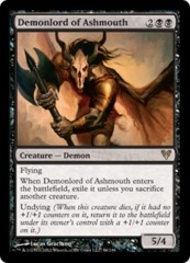 Demonlord of Ashmouth - Foil on Channel Fireball