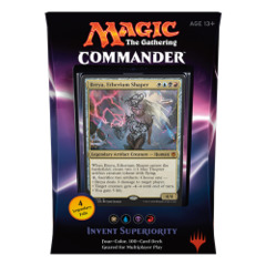 Commander 2016: Invent Superiority (White/Blue/Black/Red Deck) on Channel Fireball