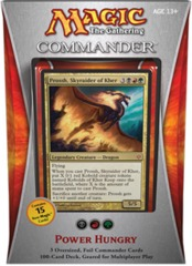 Commander 2013: Power Hungry (Black/Red/Green) on Channel Fireball