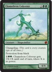 Chameleon Colossus - Foil on Channel Fireball