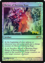 Shrine of Burning Rage (WPN Foil) on Channel Fireball