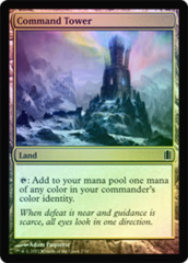 Command Tower - Foil on Channel Fireball