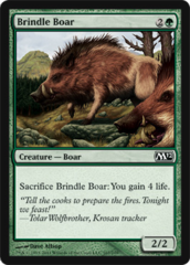 Brindle Boar - Foil on Channel Fireball