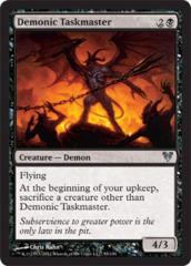 Demonic Taskmaster on Channel Fireball