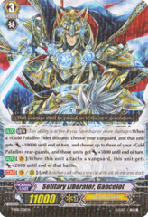 Solitary Liberator, Gancelot - TD08/001EN on Channel Fireball