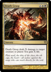 Death Grasp on Channel Fireball
