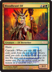 Bloodbraid Elf (FNM Foil) on Channel Fireball