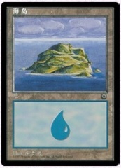Island 4 (Alternate Art) on Channel Fireball