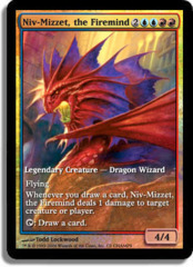 Niv-Mizzet, the Firemind (Extended Art Foil) on Channel Fireball
