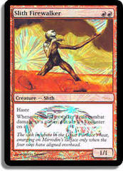 Slith Firewalker (JSS Foil - J05) on Channel Fireball