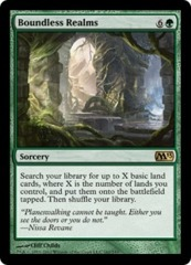 Boundless Realms - Foil on Channel Fireball