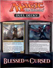 Duel Decks: Blessed vs. Cursed on Channel Fireball