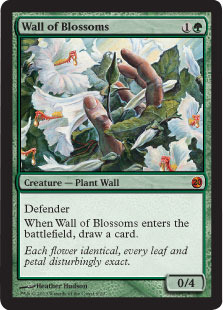 Wall of Blossoms - Foil