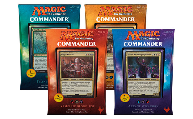 Commander 2017: Set of Four