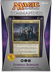 Commander 2013: Eternal Bargain (White/Blue/Black) on Channel Fireball