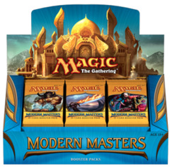 Modern Masters Booster Box on Channel Fireball