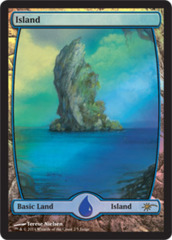 Island - Extended Art (Judge Foil) on Channel Fireball
