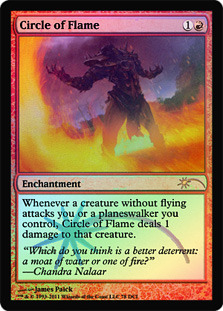 Circle of Flame (WPN Foil)