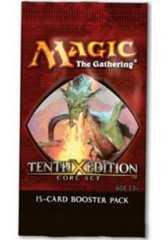 10th Edition Booster Pack on Channel Fireball