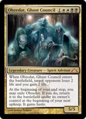 Obzedat, Ghost Council on Channel Fireball