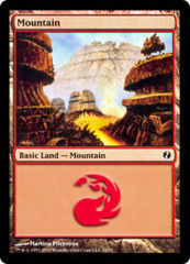 Mountain (76) on Channel Fireball