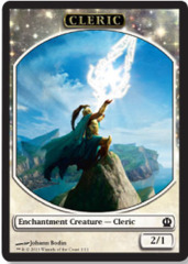 Cleric Token on Channel Fireball
