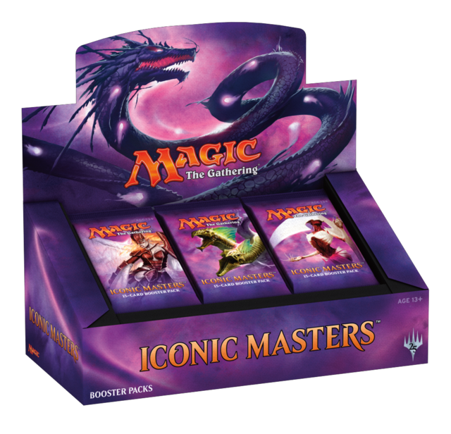 *Iconic Masters Booster Box*