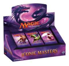*Iconic Masters Booster Box* on Channel Fireball