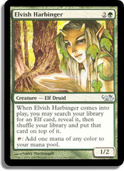 Elvish Harbinger on Channel Fireball