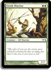 Elvish Warrior on Channel Fireball