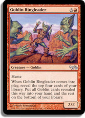 Goblin Ringleader on Channel Fireball