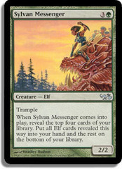 Sylvan Messenger on Channel Fireball