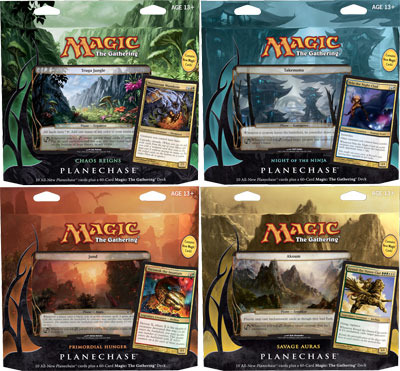Planechase 2012 Game Pack: Set of Four