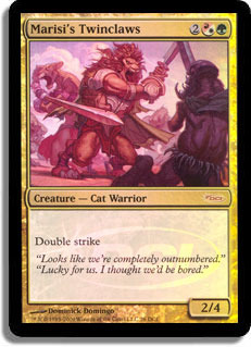 Marisi's Twinclaws (WPN Foil)