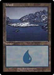 Island (Euro Land Blue: Danish Island, Scandinavia) on Channel Fireball