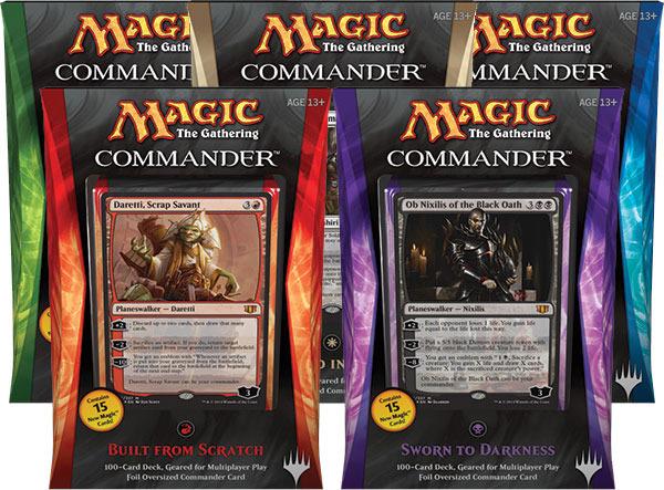 Commander 2014: Set of Five