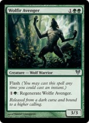 Wolfir Avenger - Foil on Channel Fireball