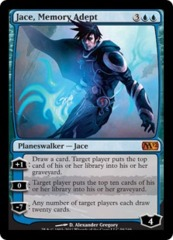Jace, Memory Adept - Foil on Channel Fireball