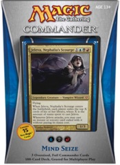 Commander 2013: Mind Seize (Blue/Black/Red) on Channel Fireball