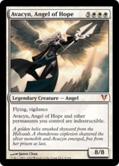 Avacyn, Angel of Hope Oversized Helvault Promo on Channel Fireball