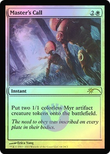 Master's Call (WPN Foil)