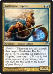 Battlewise Hoplite - Foil on Channel Fireball