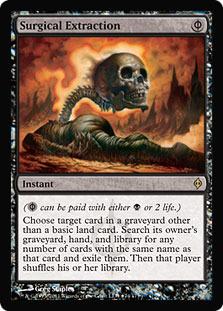 Surgical Extraction (New Phyrexia Buy-a-Box Promo)