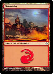 Mountain (74) on Channel Fireball