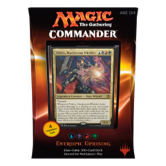Commander 2016: Entropic Uprising (Blue/Black/Red/Green Deck) on Channel Fireball