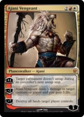 Ajani Vengeant - Foil on Channel Fireball